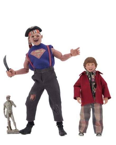 "NECA  The Goonies 8"" Clothed Action Figures Sloth & Chunk Two-Pack"